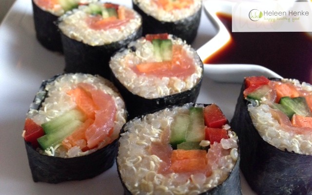 Quinoa Sushi | Heleen Henke | Happy Healthy FoodHeleen Henke | Happy ...
